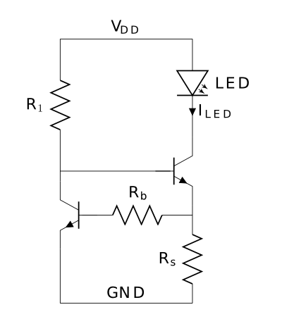 constant current driver schematics