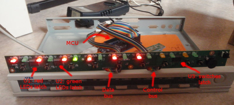 reverse engineered KVM switch