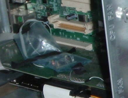 fake fan tach signal HP ML350