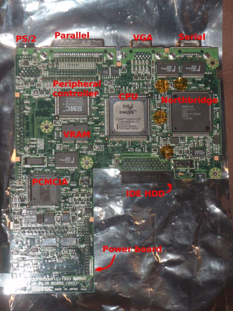 Motherboard (bottom)