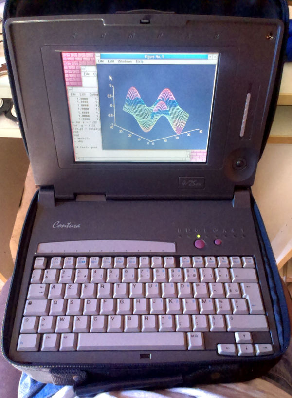 Compaq Contura 4/25CX overview