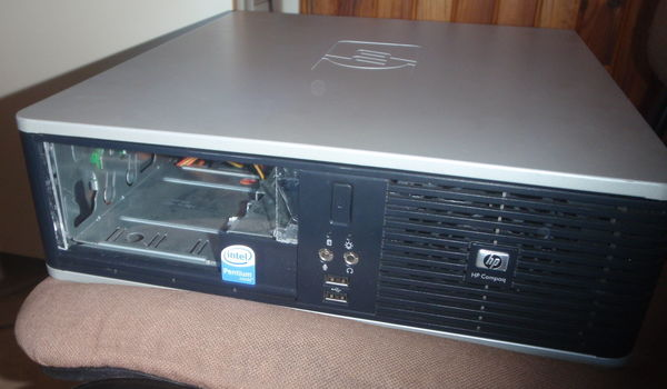 HP Compaq DC5800 front cover